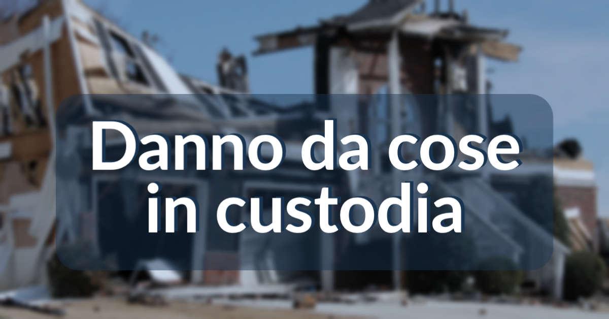 Read more about the article Guida al danno cagionato da cose in custodia: ex art. 2051 del codice civile